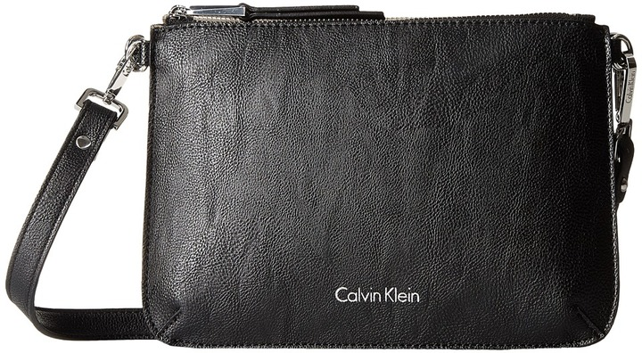Calvin Klein Calvin Klein Unlined Pebble PVC Crossbody