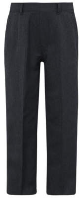 CAT George Boys Charcoal Half Elasticated Waist School Trousers