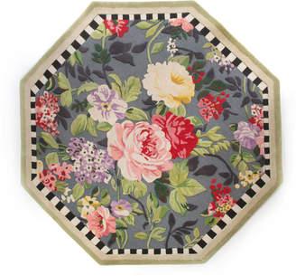 Mackenzie Childs Tudor Rose Rug, 6' Octagon