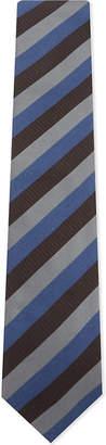 Eton Square and dot silk tie