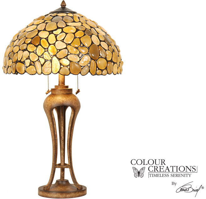 Rooms To Go Shoreline Tiffany Style Lamp