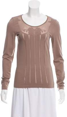 Wolford Embellished Long Sleeve Top