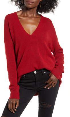 Leith Cozy V-Neck Sweater