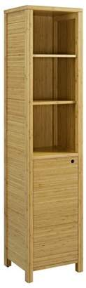 Linon Silas One Door Tall Cabinet