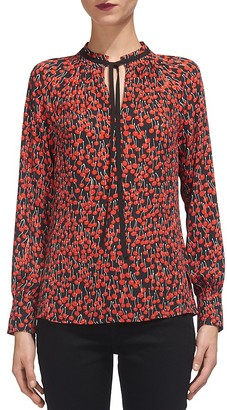 Whistles Cherry Print Blouse $230 thestylecure.com