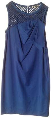 Georges Rech Blue Cotton Dress for Women