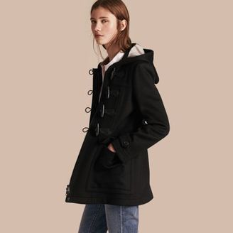 Burberry Fitted Wool Duffle Coat $1,195 thestylecure.com