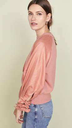 ADEAM Bow Cuff Sweater
