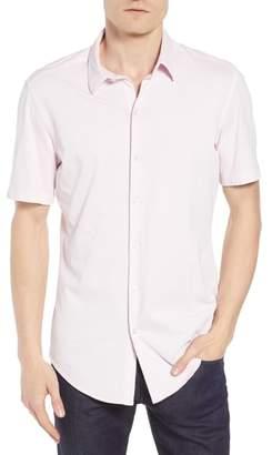 BOSS Robb Trim Fit Jersey Sport Shirt