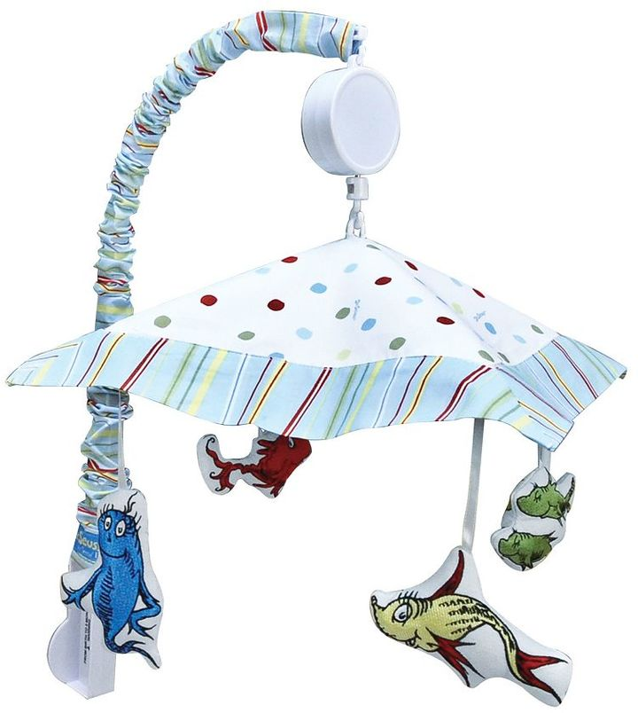 Trend Lab Dr. Seuss's One Fish Two Fish Mobile by