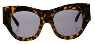 Karen Walker Tinted Marbled Sunglasses
