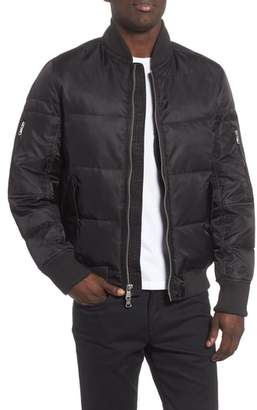 Van Dal The Very Warm Vandal Down & Feather Fill Quilted Bomber Jacket