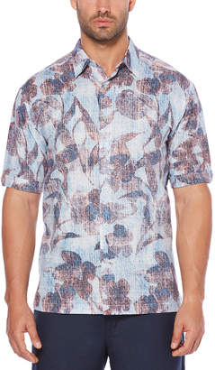 Cubavera Big & Tall Graphic Floral Shirt