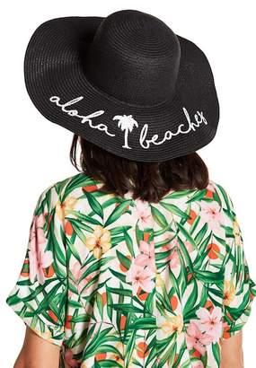 David & Young Aloha Beaches Floppy Hat