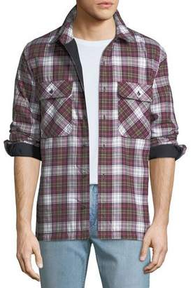 Burberry Men's Barlow Plaid Overshirt