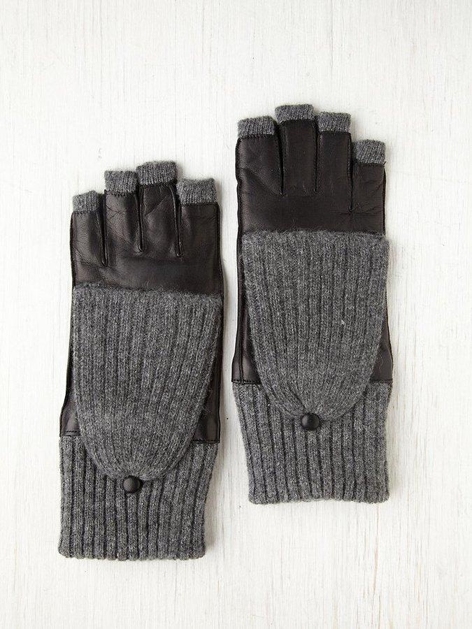 Carolina Amato Leather Convertible Glove