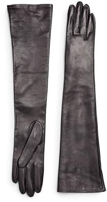 Saks Fifth Avenue Collection Women's Silk-Lined Leather Gloves