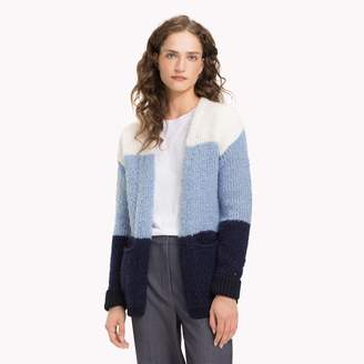 Tommy Hilfiger Colorblock Textured Cardigan