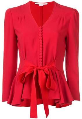 Stella McCartney tie waist buttoned blouse