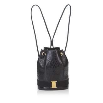 Salvatore Ferragamo Leather Backpack