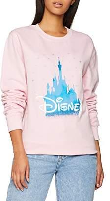 Disney Women Castle Sweatshirt,(Manufacturer Size: XX-Large)