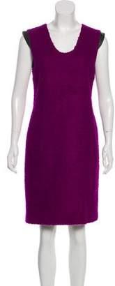 Diane von Furstenberg Ronaldo Wool Knee-Length Dress