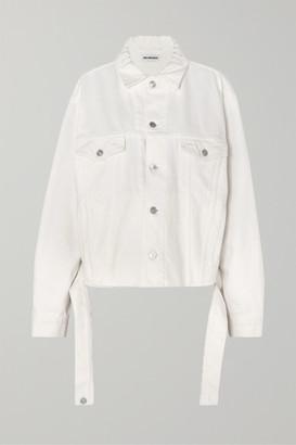 Balenciaga Oversized Denim Jacket - White