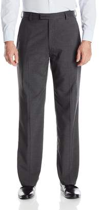 Haggar Men's 1926 Originals Mini Houndstooth Straight Fit Plain Front Suit Separate Pant