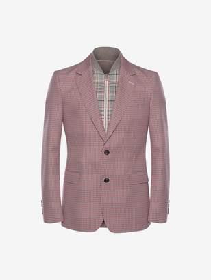 Alexander McQueen Dogtooth Bib Jacket