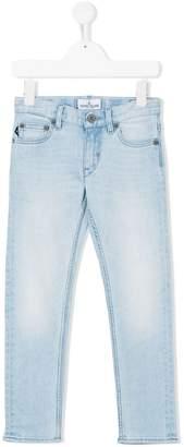 Stone Island Junior bleached denim trousers