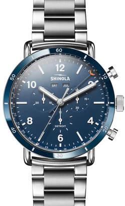 Shinola Men's 45mm Canfield Sport Bracelet Watch