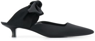 The Row bow mules
