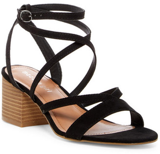 Madden Girl Leexi Strappy Block Heel Sandal $49 thestylecure.com