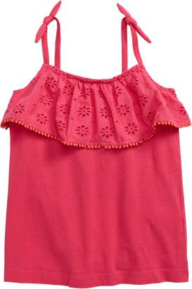 Boden Mini Broderie Anglaise Ruffle Tank