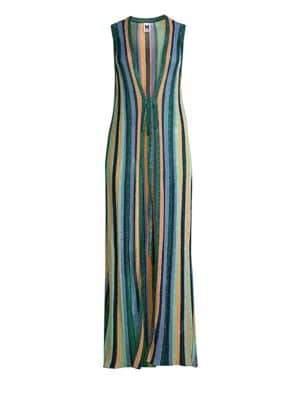 M Missoni Women's Lurex Maxi Cardigan - Size 38 (2)