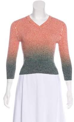 Acne Studios Ombré Rib Knit Sweater