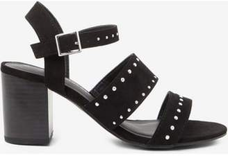 Dorothy Perkins Womens Wide Fit Black 'Star' Sandals