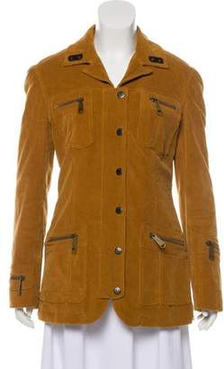 Dolce & Gabbana Corduroy Button-Up Jacket