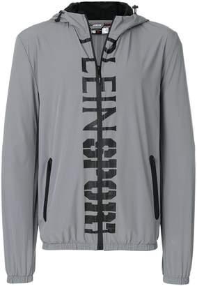 Plein Sport logo print sports jacket