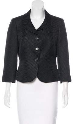 Tahari Jacquard Evening Jacket