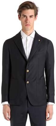 Tagliatore Wool Hopsack Jacket
