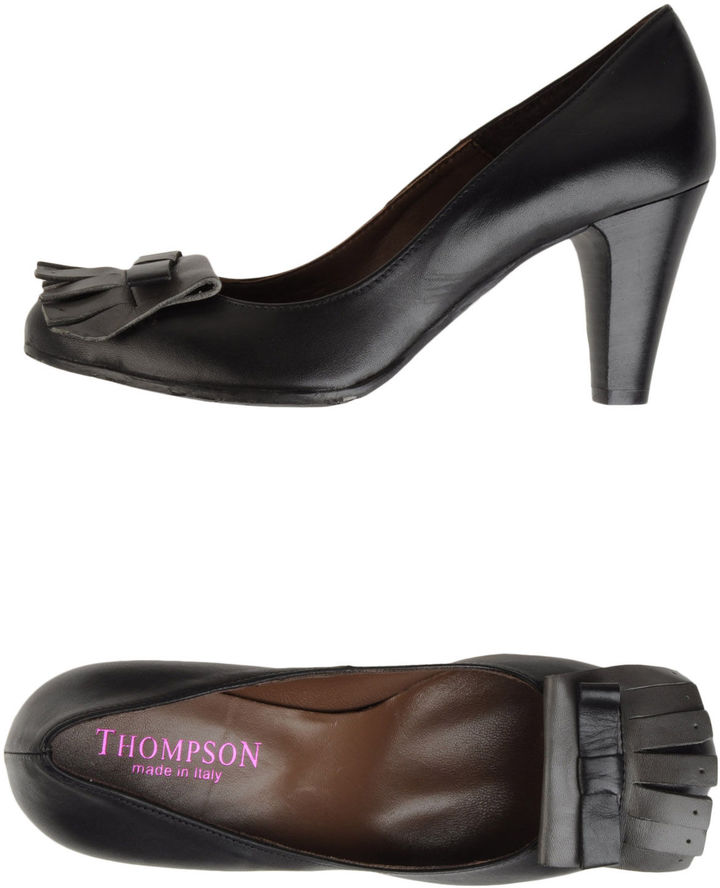 Thompson Moccasins with heel