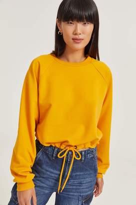 Ardene Fleece Sweatshirt with Drawstring Waist