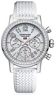 Chopard Mille Miglia Classic Stainless Steel & Diamond Chronograph Bracelet Watch