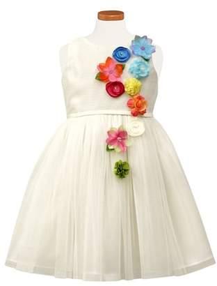 Sorbet Floral Fit & Flare Dress