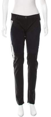 Jean-Pierre Braganza Low-Rise ColorBlock Pants