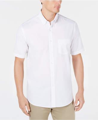 Club Room Men's Regular-Fit Stretch Oxford Shirt