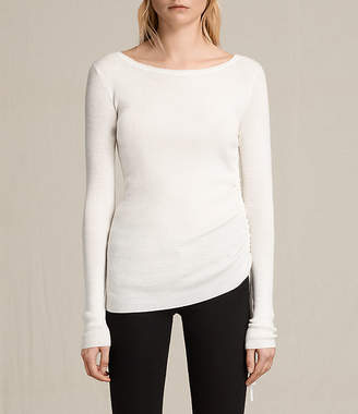 AllSaints Vana Crew Neck Top