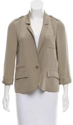 Elizabeth and James Lightweight Notch-Lapel Blazer