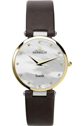Ladies Michel Herbelin Epsilon Watch 17343/T89BR